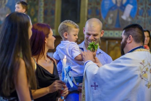 "Кръщене в храм ""Св. Неделя"""
