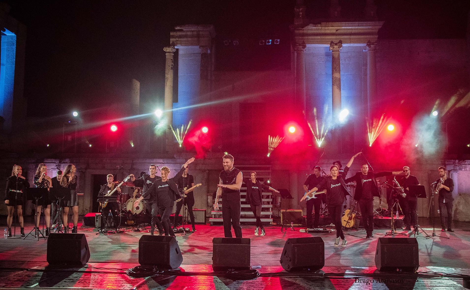 концерт миро, античен театър